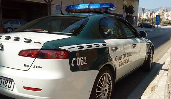 Böter för trafikförseelser i Spanien