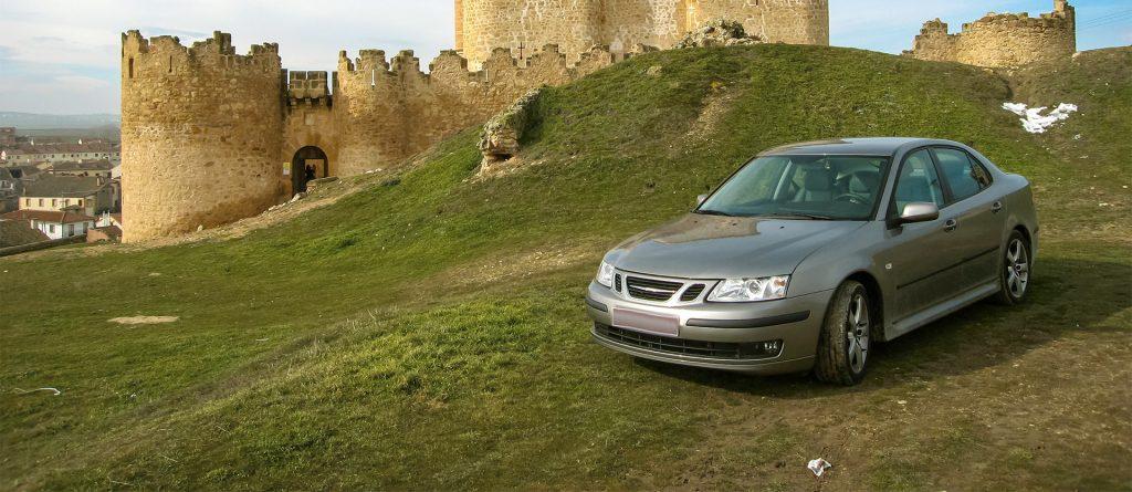 Svenskregistrerad bil i Spanien