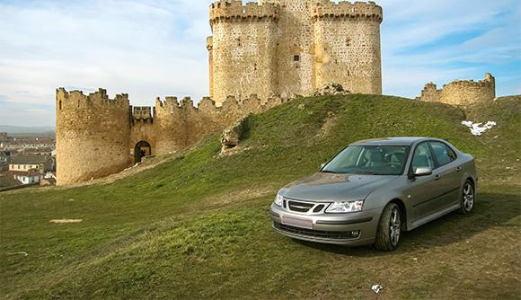 Svensk bil i Spanien