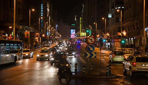 Trafikregler i Spanien