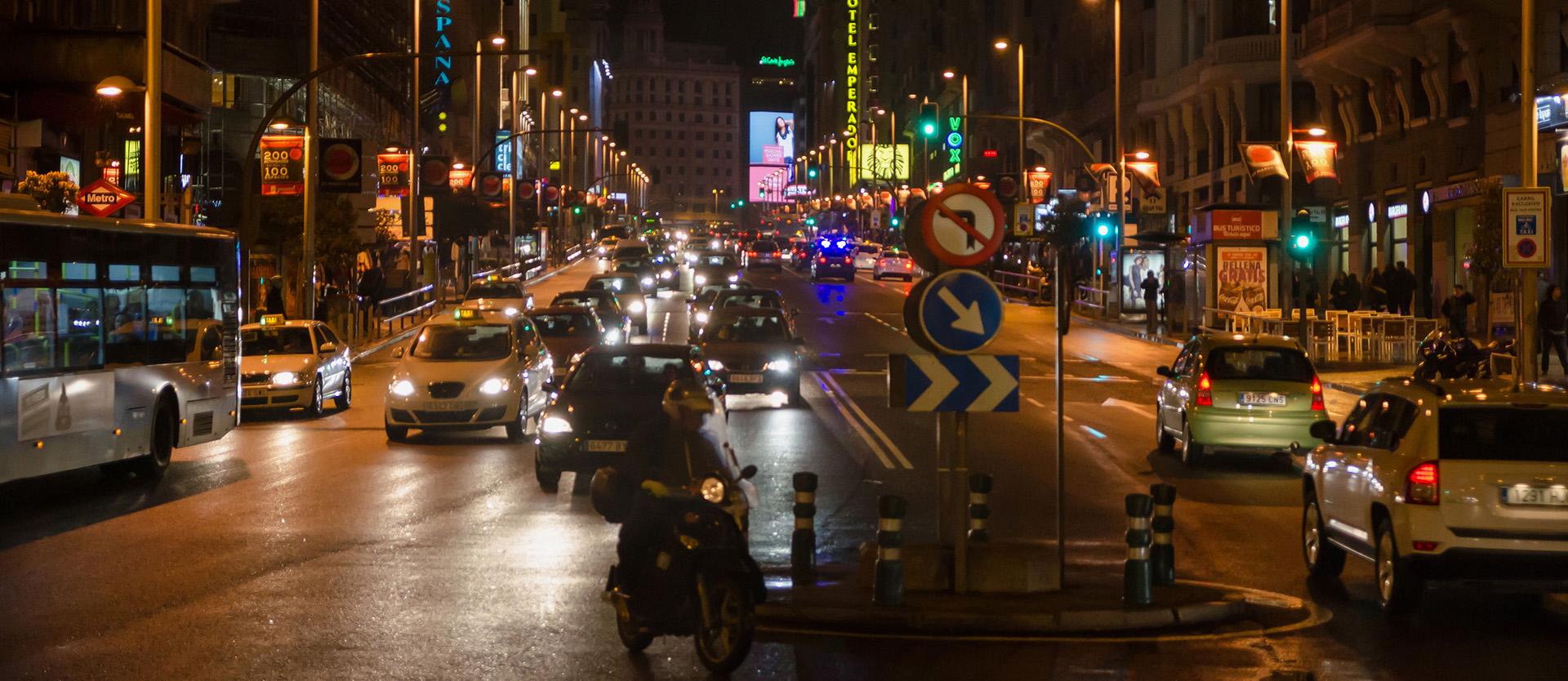 Trafikregler Spanien