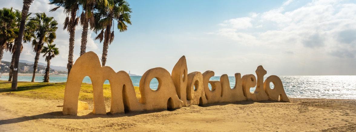 La Malagueta Malagas strand
