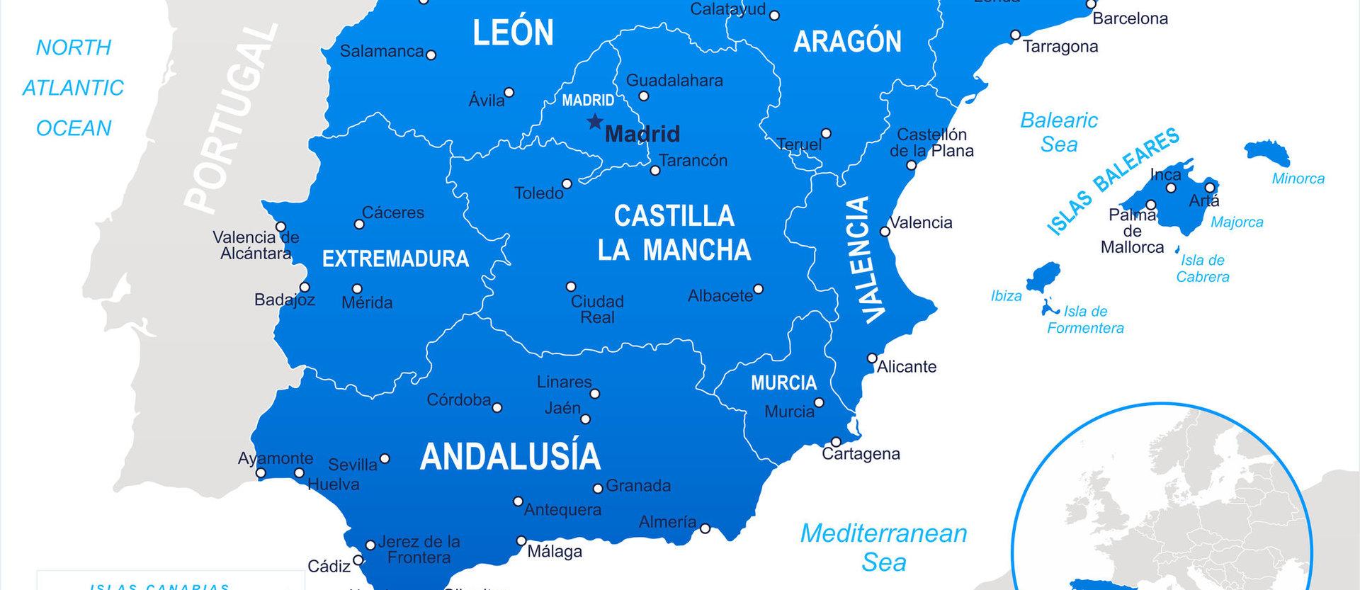 Regionalskatter i Spanien