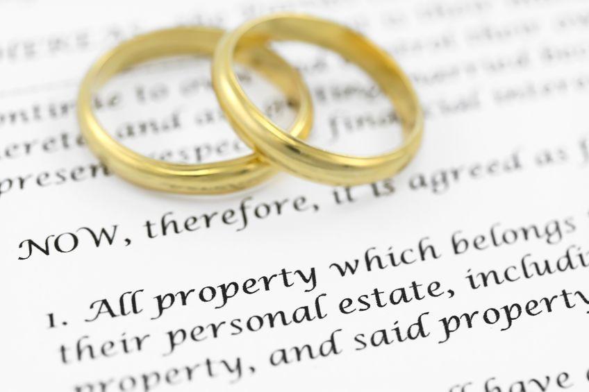 Äktenskapsförord Spanien