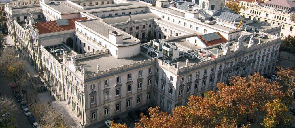 Högsta domstolen Madrid