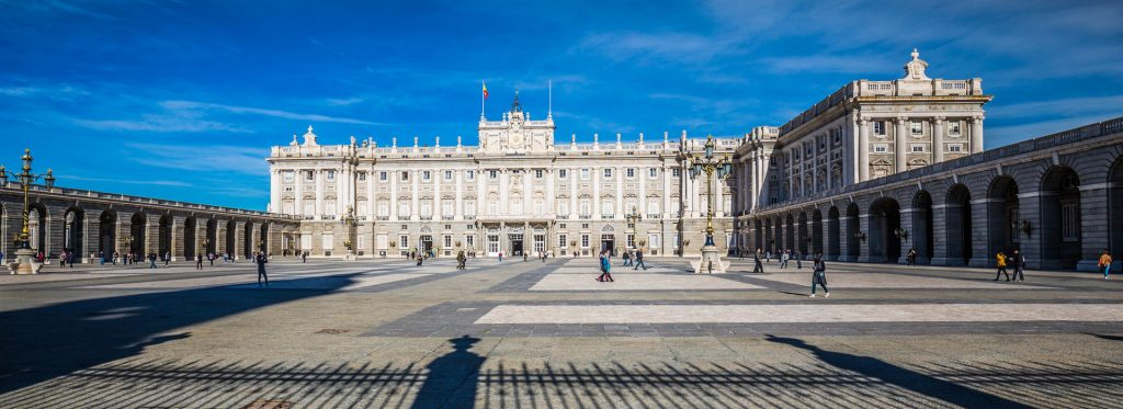 Bourbon Spanien, Palacio Real Madrid