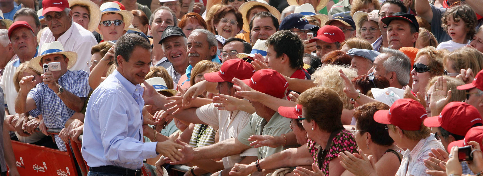 PSOE & Zapatero leder Spanien 2004-2011