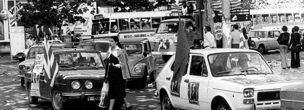 Spanien fria val 1977